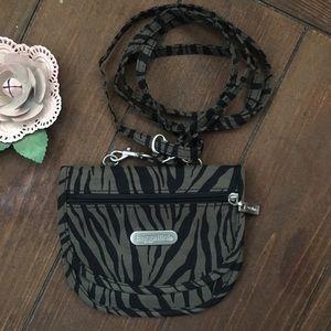Baggallini Teenee Zebra Cross Body Bag